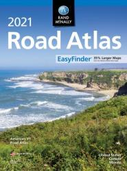 United States, Canada and Mexico, 2021 Midsize EasyFinder Road Atlas by Rand McNally