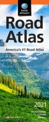 2021 Compact Road Atlas : U.S., Canada & Mexico by Rand McNally