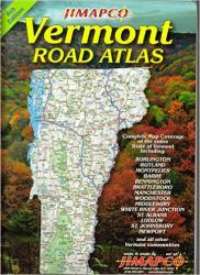 Vermont, Road Atlas by Jimapco