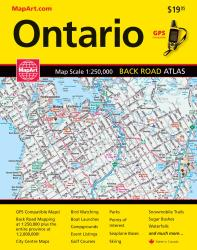 Ontario, Back Road Atlas by Canadian Cartographics Corporation