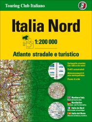 Italy, Northern Road Atlas by Touring Club Italiano
