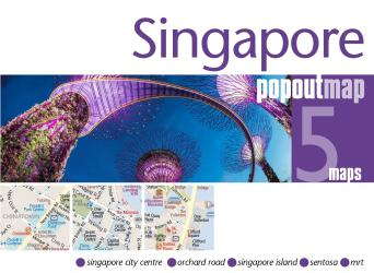 Singapore, PopOut Map by PopOut Products