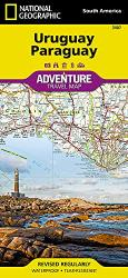 Uruguay, Paraguay (National Geographic Adventure Map) by National Geographic Maps