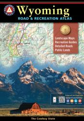 Wyoming Road and Recreation Atlas by Benchmark Maps