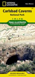 Carlsbad Caverns National Park, New Mexico, Map 247 by National Geographic Maps