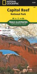 Capitol Reef National Park, Map 267 by National Geographic Maps