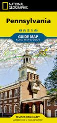 Pennsylvania GuideMap by National Geographic Maps