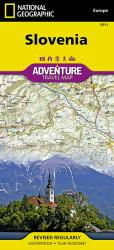Slovenia Adventure Map 3311 by National Geographic Maps