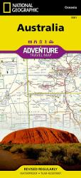 Australia Adventure Map 3501 by National Geographic Maps