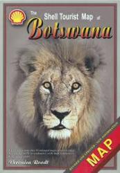 Map of Botswana with booklet by Veronica Roodt