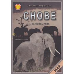 Chobe Game Reserve Map by Veronica Roodt