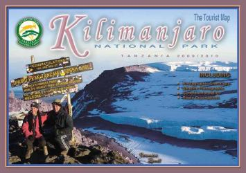 Map of Kilimanjaro National Park by Veronica Roodt