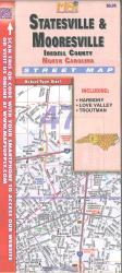 Statesville & Mooresville : Iredell County, North Carolina : street map by Map Supply, Inc.