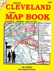 Cleveland, Ohio, Street Map Book by GM Johnson