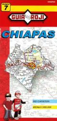 Chiapas, Mexico, State Map by Guia Roji