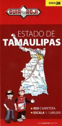 Tamaulipas, Mexico, State Map by Guia Roji