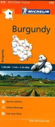 Burgundy (519) by Michelin Maps and Guides