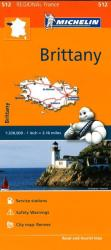 Brittany (512) by Michelin Maps and Guides