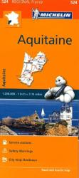 Aquitaine (524) by Michelin Maps and Guides