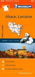 Alsace, Lorraine (516) by Michelin Maps and Guides