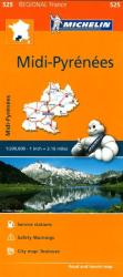 Midi Pyrenees (525) by Michelin Maps and Guides