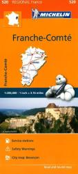 Franche Comte (520) by Michelin Maps and Guides