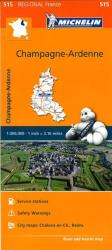 Champagne, Ardennes (515) by Michelin Maps and Guides