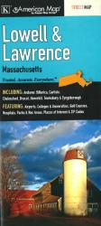 Lowell and Lawrence, Massachusetts by Kappa Map Group