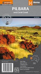 Pilbara and Coral Coast, Australia by Hema Maps