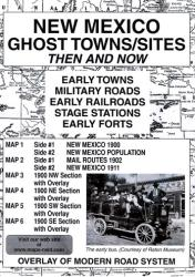 New Mexico, Ghost Towns, 5-Map Set, Then and Now by Northwest Distributors