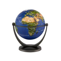 Physical Swivel and Tilt Mini Globe, 4 inch by Stellanova