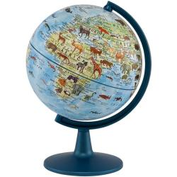 Animals of the World Globe, 6 inch by