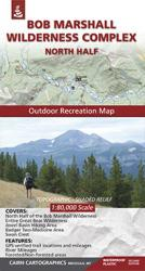 Bob Marshall Wilderness : North Half by Cairn Cartographics