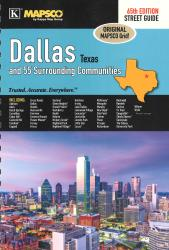 Dallas TX Street Guide by Kappa Map Group