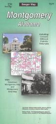 Montgomery, Alabama by The Seeger Map Company Inc.