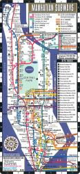 Manhattan Bus and Subway Map by Streetwise Maps, Inc
