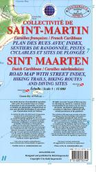 Saint Martin/Sint Maarten, Dutch and French Caribbean, Street Map by Kasprowski Publisher
