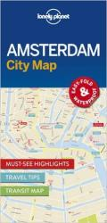 Amsterdam City Map by Lonely Planet Publications