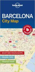 Barcelona City Map by Lonely Planet Publications