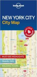 New York City Map by Lonely Planet Publications