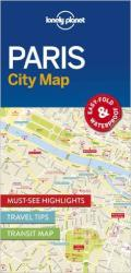 Paris City Map by Lonely Planet Publications