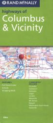 Columbus, Ohio and Vicinity Highways by Rand McNally