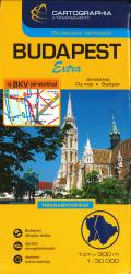 Budapest, Hungary, Extra Map by Cartographia