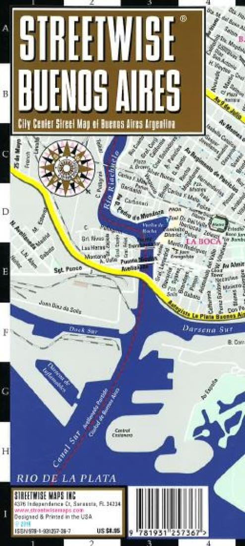 streetwise buenos aires argentina by streetwise maps inc
