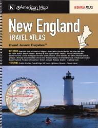 New England, Road Atlas by Kappa Map Group