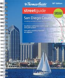 San Diego County, California, Street Guide by Rand McNally