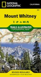 Mount Whitney by National Geographic Maps