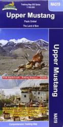 Upper & Lower Mustang : Nepal Trekking Map NA518 by Himalayan MapHouse Pvt. Ltd