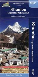 Khumbu Sagarmatha National Park by Himalayan MapHouse Pvt. Ltd