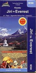 Khumbu : Jiri to Everest by Himalayan MapHouse Pvt. Ltd